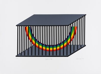 Patrick Hughes, 'Caught in a Cage', 1979