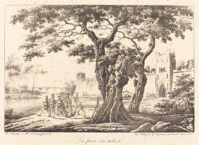 Horace Vernet, 'La piece en action', 1817