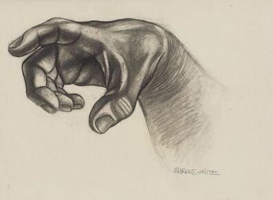 Charles White, 'Hand (Study for Hampton Mural)', 1943