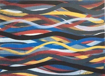 Sol LeWitt, 'Brushstrokes: Horizontal and Vertical, Plate #15', 1996