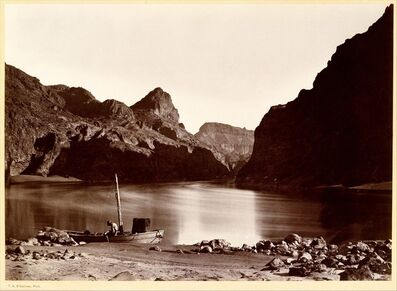 Timothy H. O'Sullivan, 'Black Cañon, From Camp 8, Looking Above', 1871