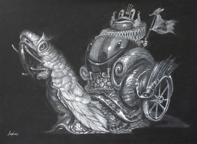 Greg 'Craola' Simkins, 'The Wealthy Traveler', 2015