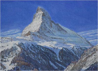 Valentin Roschacher, 'Matterhorn im Mittagslicht (von Findelbach aus)', 2009