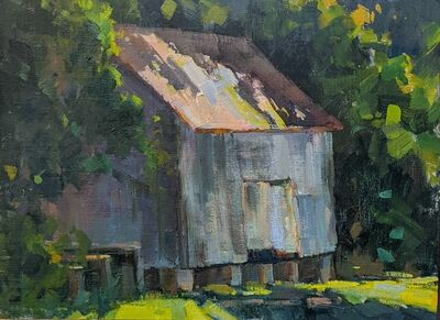 Millie Gosch, 'Barn Shadows', 2020