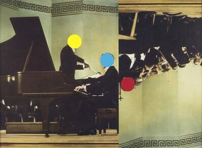 John Baldessari, 'Conductor/Pianist/Orchestra (Red/Yellow/Blue)', 1995/2007