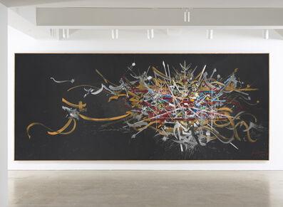 Georges Mathieu, 'Souvenir de la maison d'Autriche', 1978