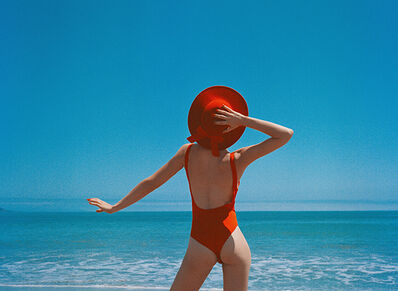 Tyler Shields, 'The girl in the red hat'