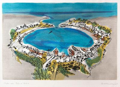 Kurt Wendlandt, 'Hafen von Porto d' Ischia', Late 1950's