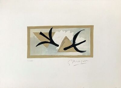 Georges Braque, 'Les Martinets ', 1959