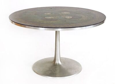 Poul Cadovius, 'A Danish circular dining table', 1960s