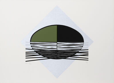 Jesús Rafael Soto, 'Ovalo Verde', 1980