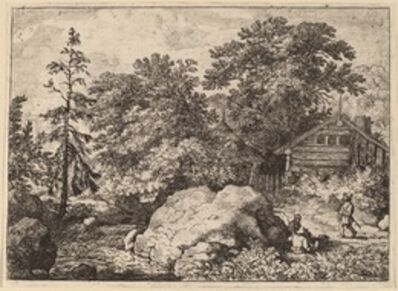 Allart van Everdingen, 'The Knoll', probably c. 1645/1656
