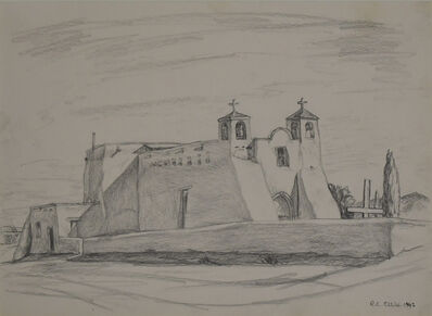 Robert C. Ellis, 'Ranchos Church', 1942