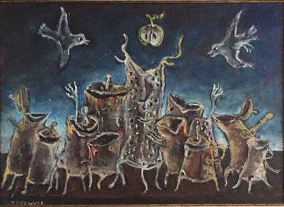 Yosl Bergner, 'exaltation', 2014