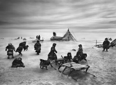 Sebastião Salgado, 'Nenets, an indigenous nomadic people, whose main subsistence come from reindeer herding, South Yamal region, Siberia, Russia', 2011