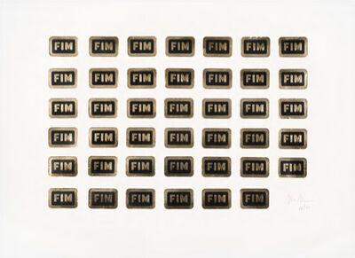 Waltercio Caldas, 'Gravura FIM', 1974