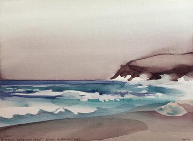 Toni Onley, 'Breakers Makawehi Bluff, Kauai', 1987