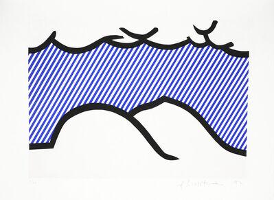 Roy Lichtenstein, 'De Denver au Montana, Départ 27 Mai 1972 (I), from La Nouvelle Chute de l'Amérique', 1992