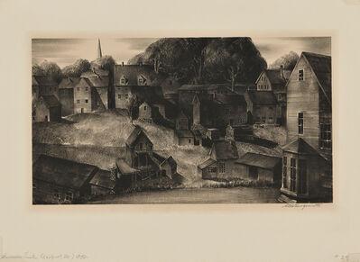 Stow Wengenroth, 'Summer Dusk (Eastport, Maine)', 1932