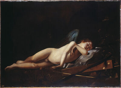 Giovanni Battista Caracciolo called Battistello, 'Sleeping Cupid', ca. 1618
