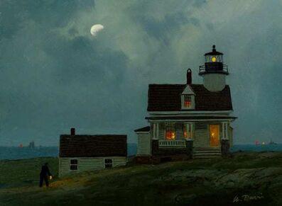William R. Davis, 'St. Croix River Lighthouse 1856, Calis, Maine', 2021