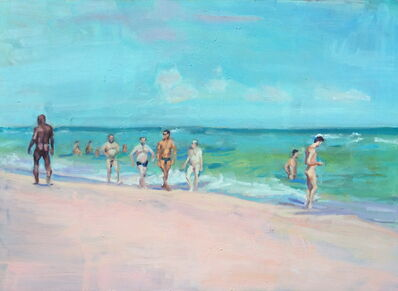 McWillie Chambers, 'Beach II', 2006