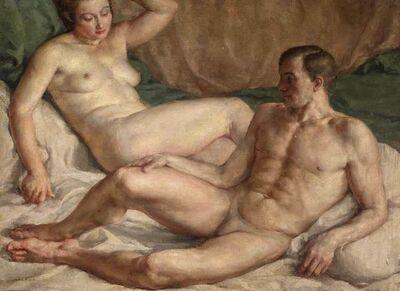 John Koch, 'Lovers'