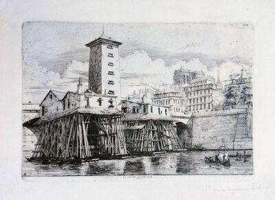Charles Meryon, 'La Pompe Notre Dame', 1852
