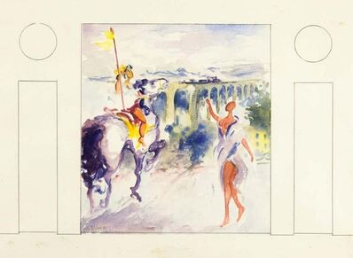 Vito Alghisi, 'Knight and Girl', 1999