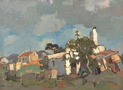 Gregoire Johannes Boonzaier, 'Wit Huisie, Napier', 1959