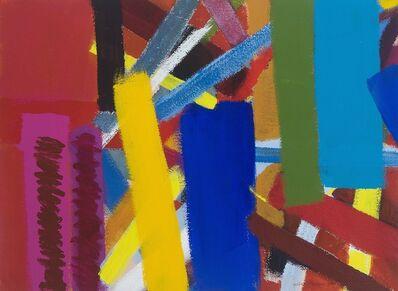 Wilhelmina Barns-Graham, 'Composition on red ', 2001