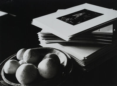 Beaumont Newhall, 'Prints and Fruit (Edward Weston's House)', 1940