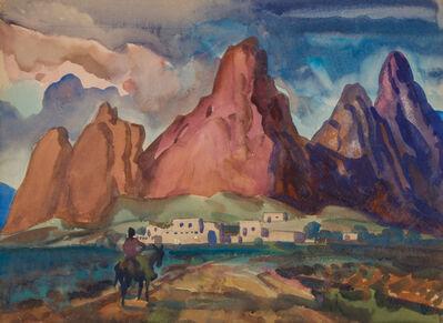 Frank Wilcox, 'Sun Drenched Pueblo', ca. 1950