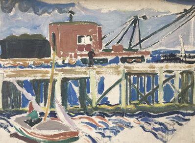Edith Lake Wilkinson, 'Provincetown Pier', ca. 1916