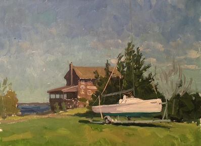 Victor Butko, 'Breakwater Yacht Club', 2016