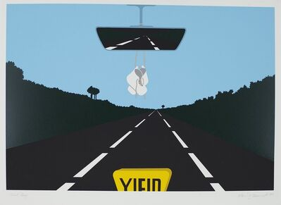 Allan D'Arcangelo, 'Yield (Baby Shoes)', 1977
