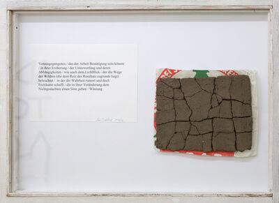 Lois Weinberger, 'Wüstung', 2016-2017