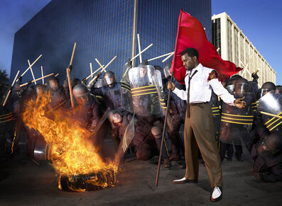 David LaChapelle, 'Kanye West: Riot', 2006