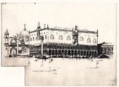 Arthur Streeton, 'Doge's Palace, Venice', ca. 1910
