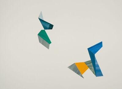 Agnes Barley, 'Untitled Collage (Birds & Spores) 11', 2014