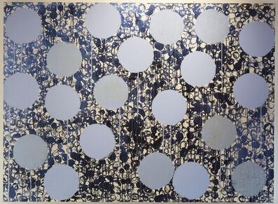 Daniel Orson Ybarra, 'Constellations blue', 2018