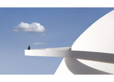 Vincent Fournier, 'The National Museum #3 - Brasilia', 2019
