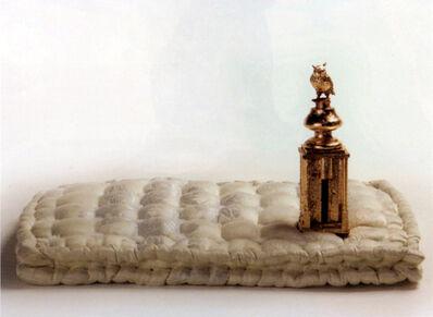 Jan Fabre, 'Hommage aan H. Bosch (Gouden Pagode op Matras)', 1994