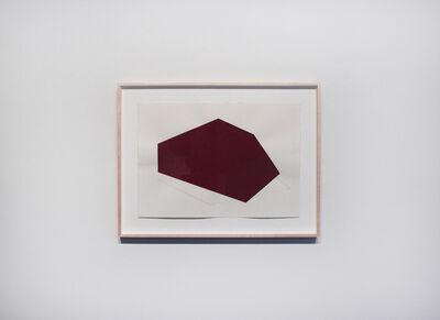 Dario Escobar, 'Dibujo que no obedece al contorno No. 2', 2015