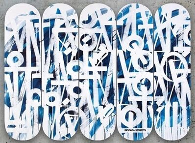 RETNA, 'Exclusive RETNA x Beyond The Streets Skate Deck', 2018