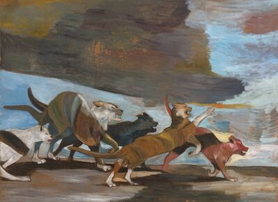 Paton Miller, 'Furious Cats', unknown
