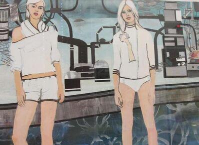Elizabeth Huey, 'Two Girls and a Machine', 2003