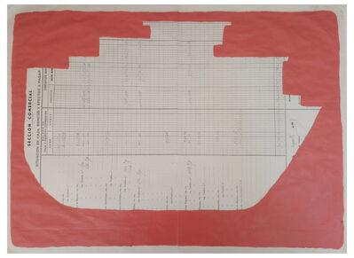 Cayetana H. Cuyás, 'Barco rojo veneciano', 2018