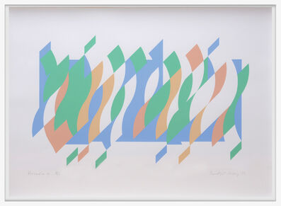 Bridget Riley, 'Arcadia 4', 2013