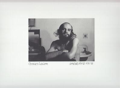 Leandro Katz, 'Charles Ludlam', 1970-1995